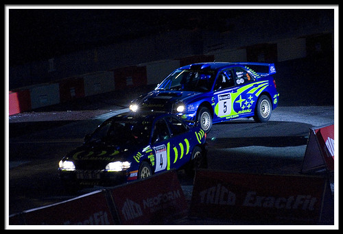Richard Burns' and Colin McRae's WRC Imprezas | by Scoobylicious