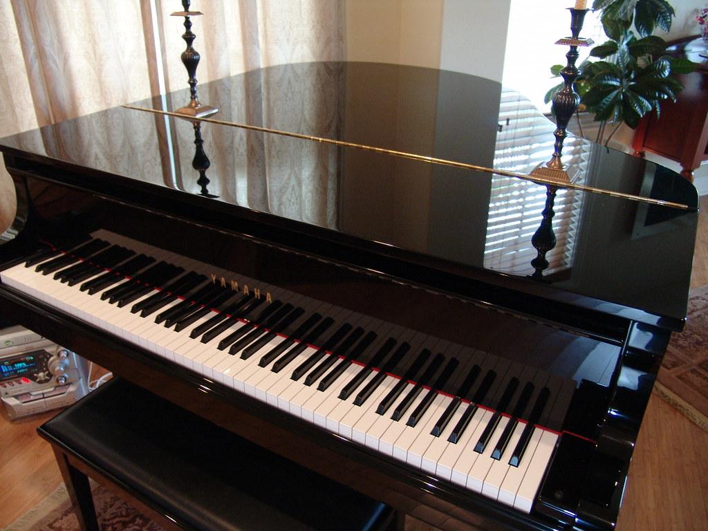 yamaha ga 1 ga1 baby grand piano flickr. Black Bedroom Furniture Sets. Home Design Ideas