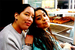 Janel and Bobbie @ The Donut Man | by themonkeyblog