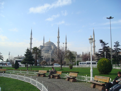 Morning near the Blue Mosque | by Liamfm .
