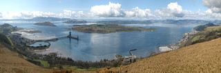 Clyde panorama above Fairlie | by wheehamx