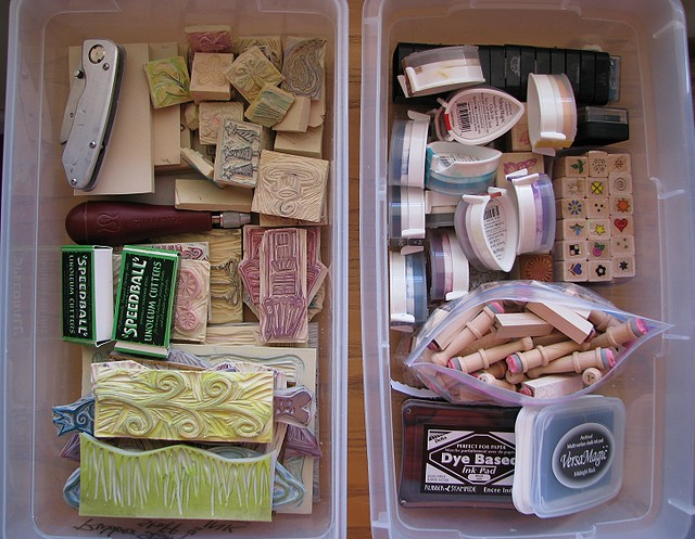 ... Storage Bins For Rubber Stamps | By Regina Lord (creative Kismet)