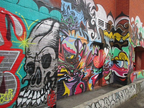 Graffiti Alley, Toronto (3)
