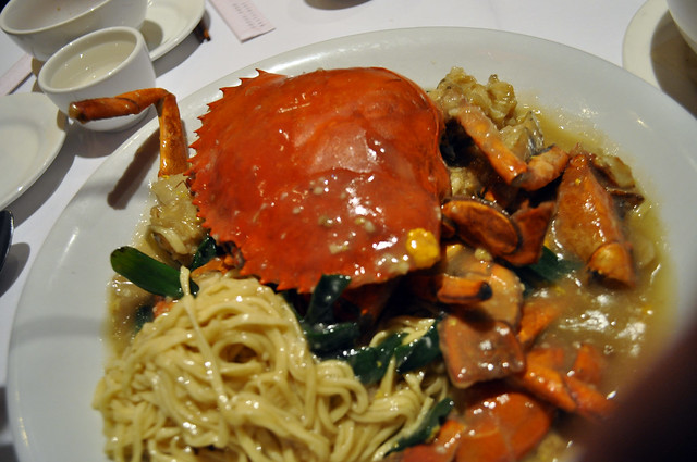 Crab noodle dish | Flickr - Photo Sharing!