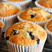 Blueberry and lemon muffins 1986 R