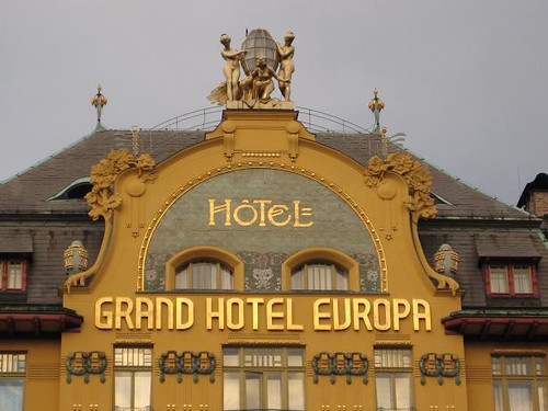 Grandeur of the grand hotel europa prague 2007 paul for Europe hotel prague