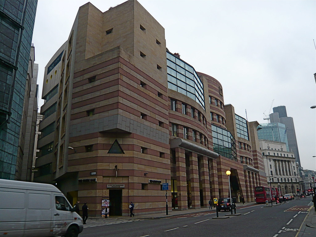 City 1990s architecture | P1020484 Number One Poultry at ...