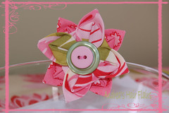 Sherbert Suprise Hair Flower/Pin | by Andrea Hair Flairs