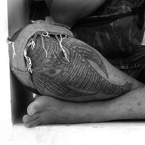 Thai Elephant Tattoos Elephant Tattoo by Ami