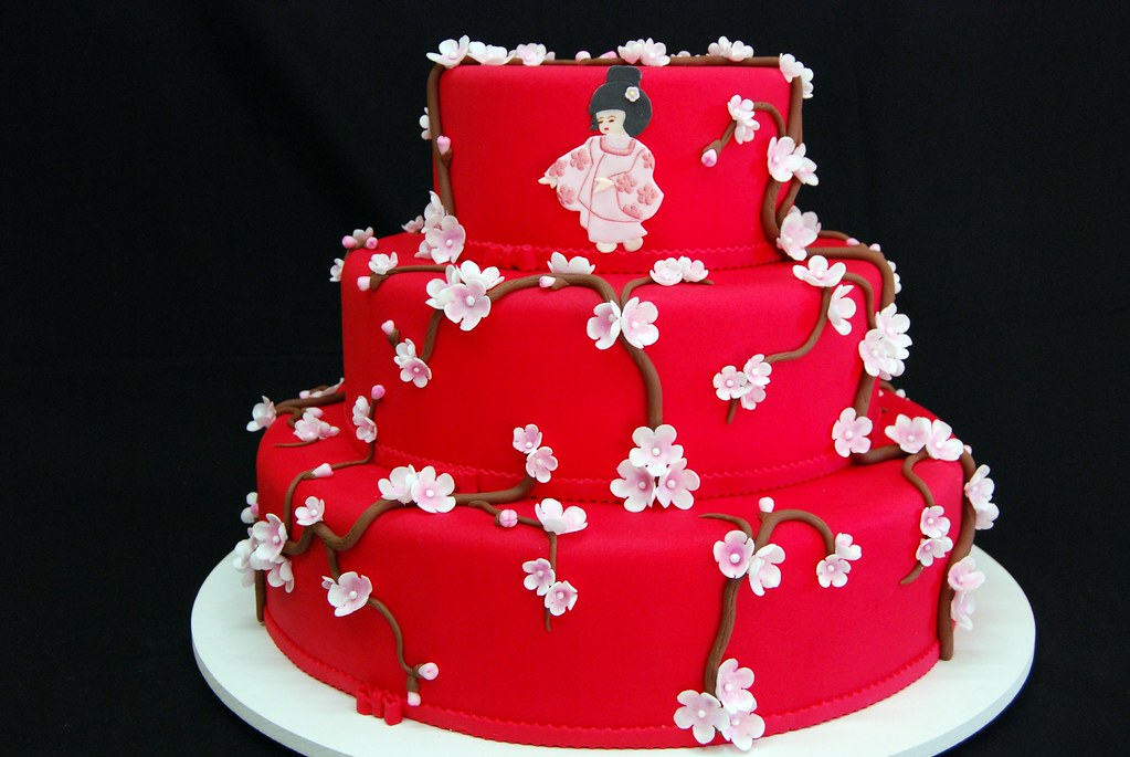 Asian Birthday Cake Video