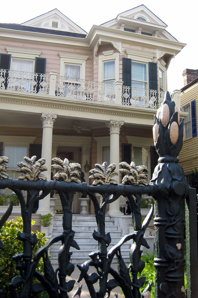 New Orleans French Quarter Cornstalk Fence Hotel Flickr