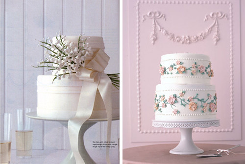Two Tier Wedding Cakes