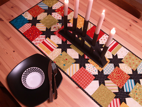 Jingle Jolly Table Runner | by Happy Zombie