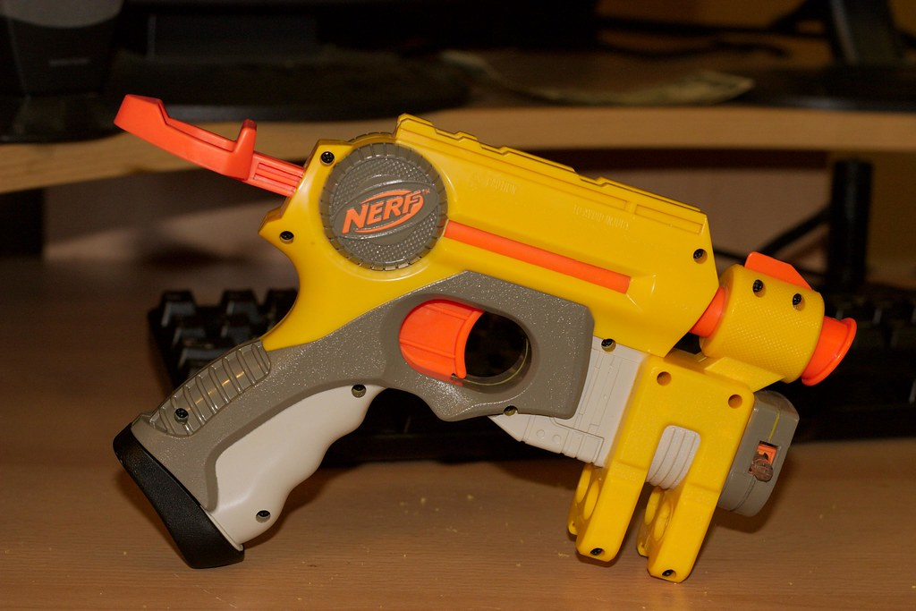 Image of 3D Printed Nerf Gun Parts, Mods & Attachments: Nerf Retaliator  Pump Action