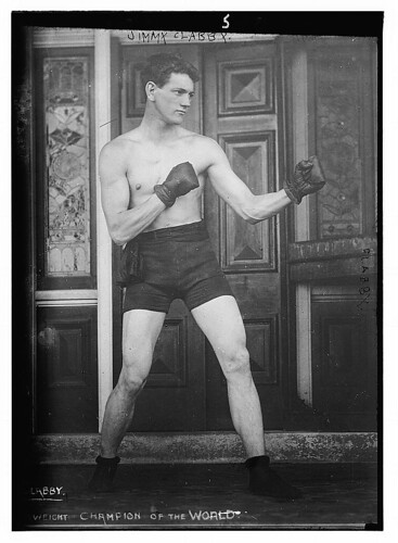 Jimmy Clabby. Boxing  (LOC) | by The Library of Congress