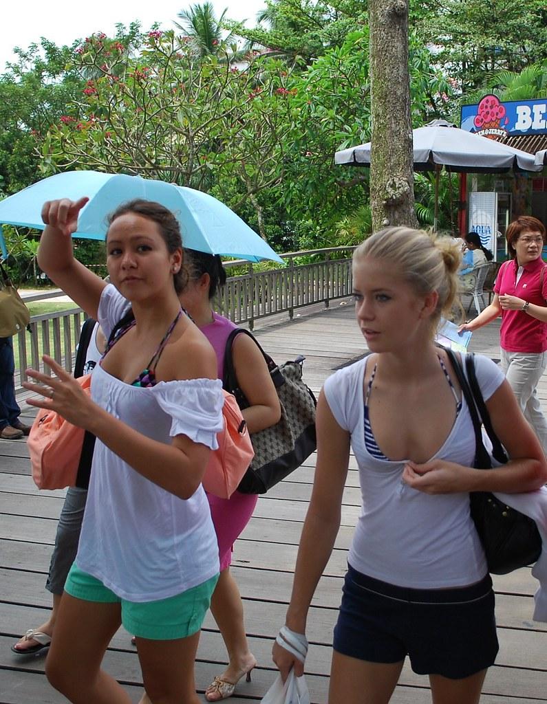 Island sexy teens