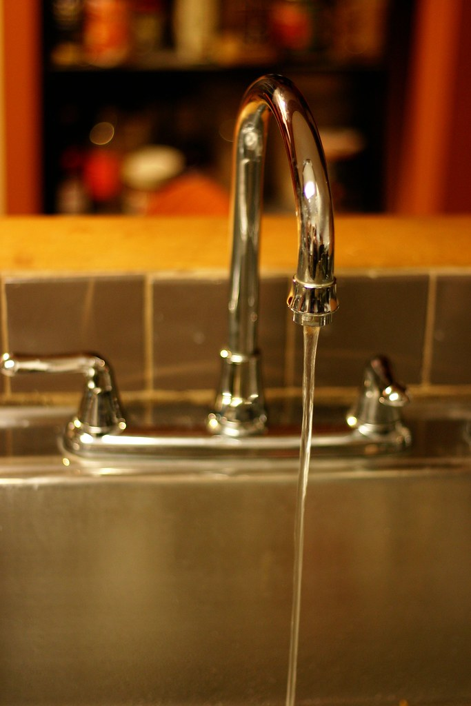 the faucet is broken, too. | Molly | Flickr