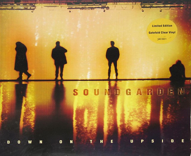 SOUNDGARDEN DOWN ON THE UPSIDE CLEAR VINYL 2LP FOC GATEFOLD