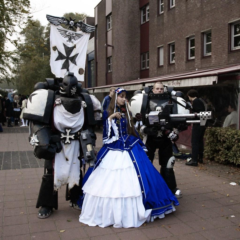 Black Templars (Warhammer 40k) | Innocent Coppieters | Flickr