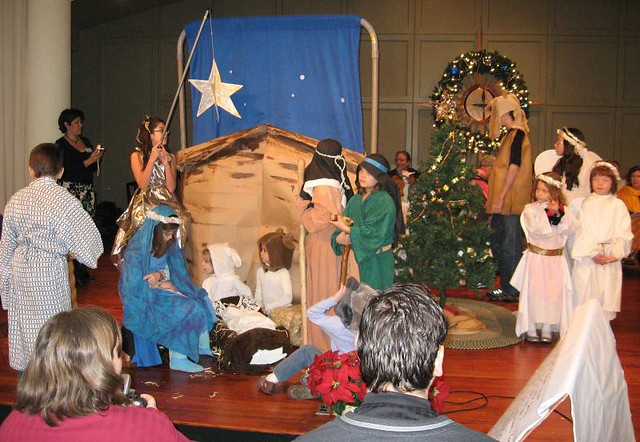 Church Christmas Pageant | All the little kids, plus stage ...
