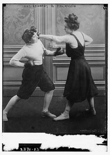 Mrs. Edwards & Frl. Kussin [boxing]  (LOC) | by The Library of Congress