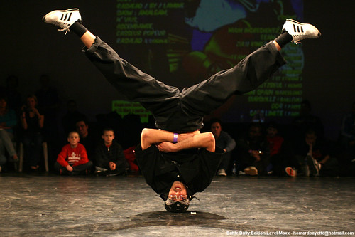 Breakdancing terms