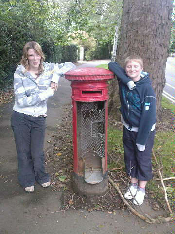 Postbox vandalised | by mattgarrett