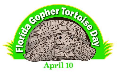 Florida gopher tortoise day logo florida fish and for Florida free fishing days
