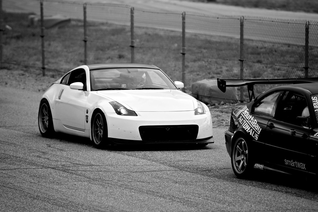 A Ec B on Nissan 350z