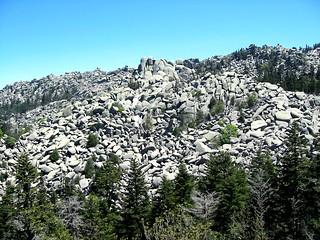 Le chaos rocheux d'Apaseu