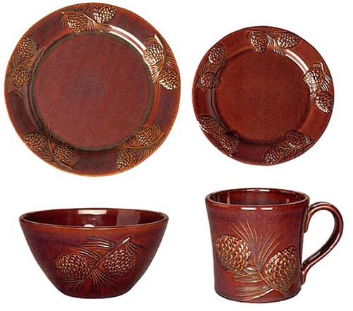 ... Fusion Pinecone Dinnerware Set | by sonomagifts  sc 1 st  Flickr & Fusion Pinecone Dinnerware Set | Fusion Pine Cone Dinnerware\u2026 | Flickr