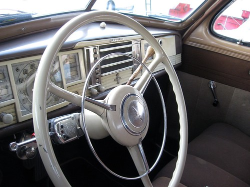 1940 Chrysler Windsor Club Coupe Steering Wheel