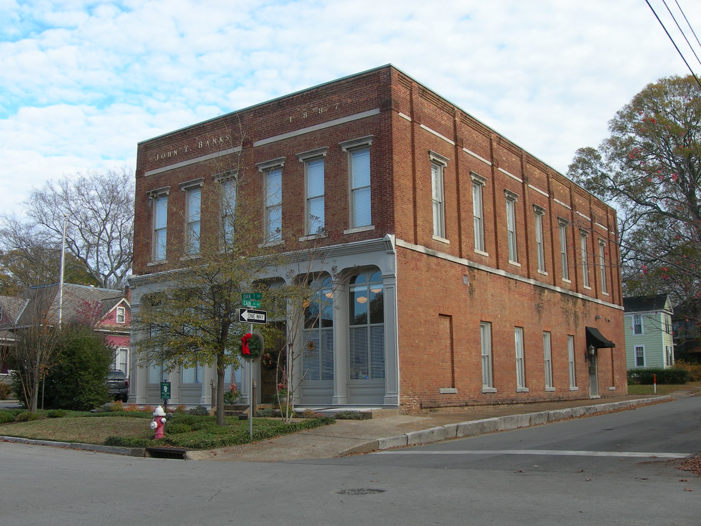 Old Morgan County Court House Decatur Alabama Erected