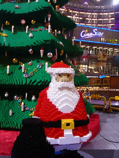 Zee Lego christmas tree - Comes with Lego santa, too! | by Jiayong Ou