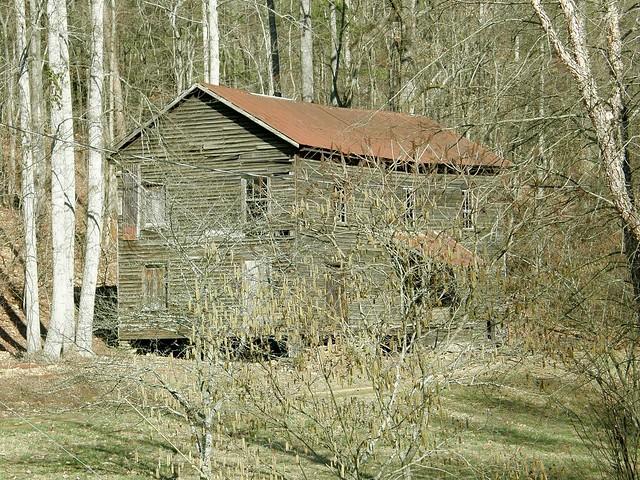The old dennis mill ramhurst ga flickr photo sharing for Dennis mill cabin