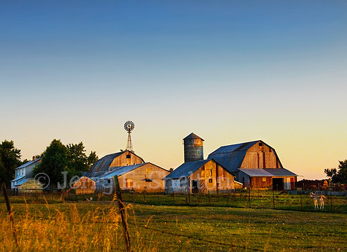 Amish Farm at Sunset | by Uncle Phooey