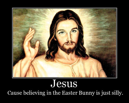 jesus motivational poster jesus   cause believing in the e flickr