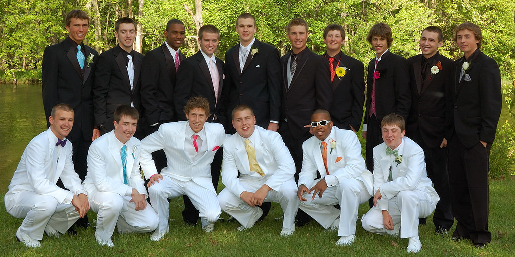 White Tuxedos Making a Comeback! | Plainwell High School ...