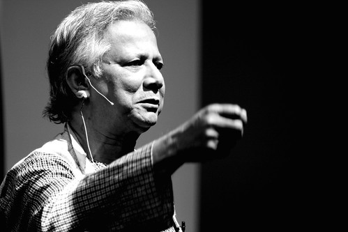 Nobel Peace prize laureate Muhammad Yunus @ Yahoo! all hands | by Subramanyan