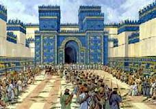 the ishtar gate ancient babylon iraq babylon was the ca flickr