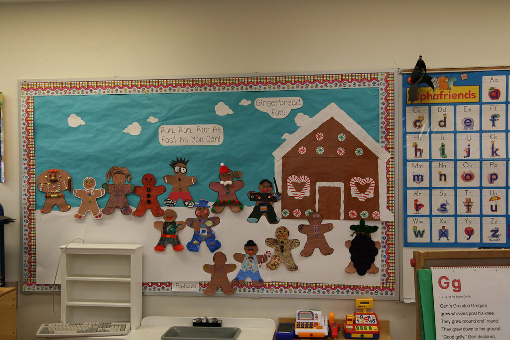 Gingerbread Men | Another family project. We read 5 variatio ...