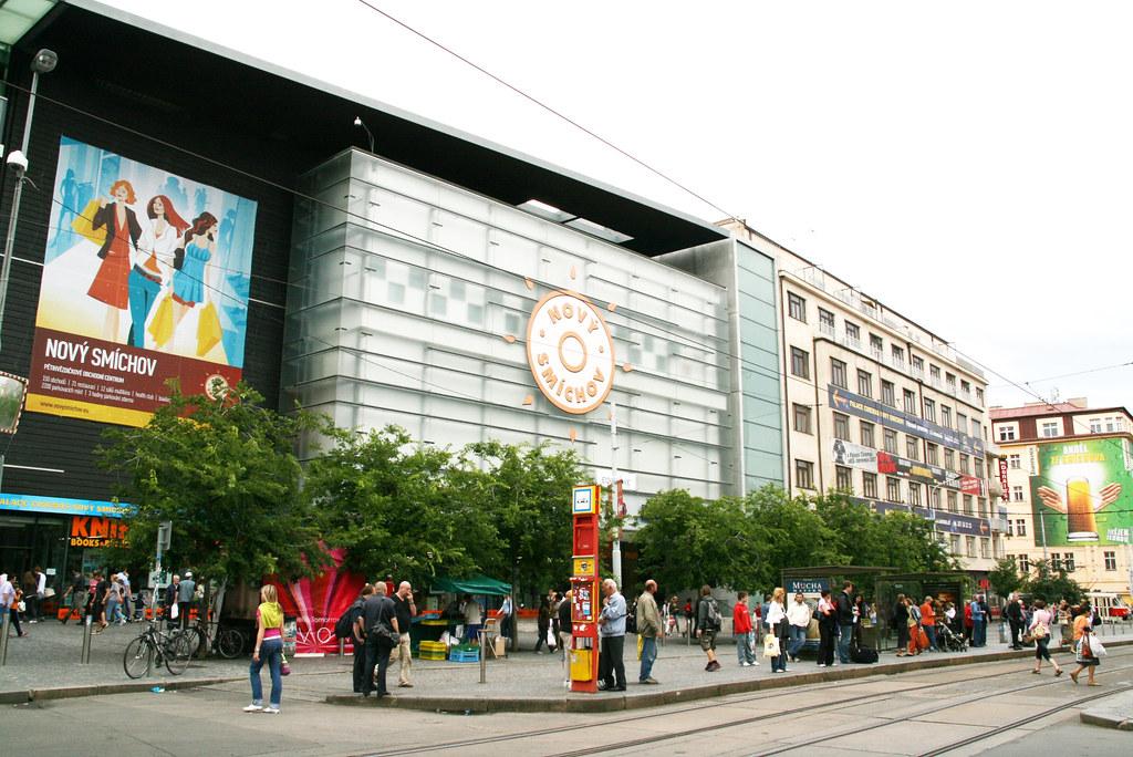 Novy Smichov Prague Novy Smichov Shopping Centre