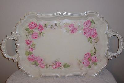 Hand Painted H Stern Plate