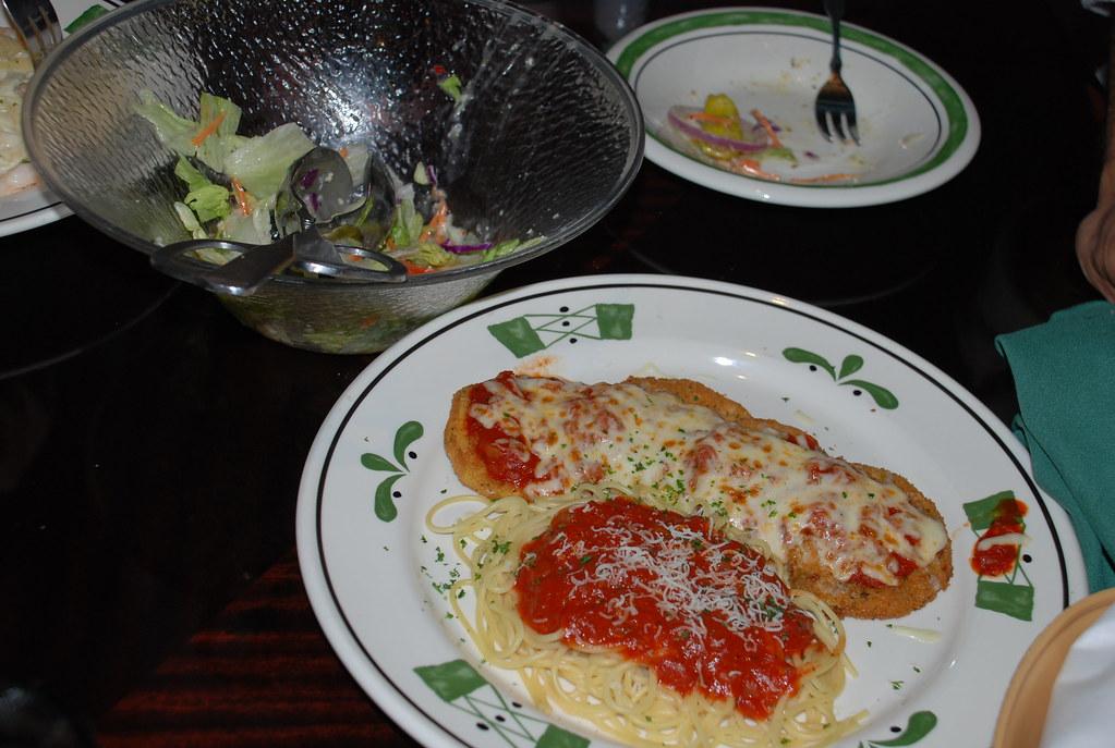 Eggplant Parmesan Olive Garden eggplant Parmesan In o...