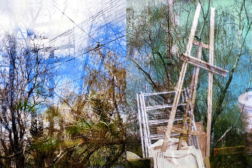 Discarded Easel | by Tim Noonan