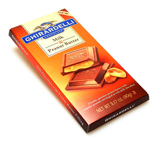 Ghirardelli Milk Chocolate & Peanut Butter | by cybele-