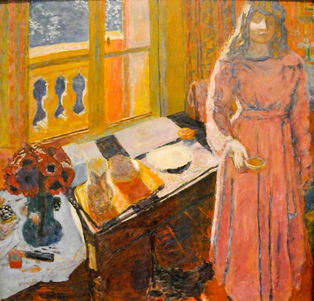Pierre Bonnard The Bowl Of Milk 1919 At Tate Modern Art
