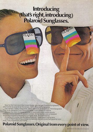 Vintage Ad #381: Instant Sunglasses | by jbcurio
