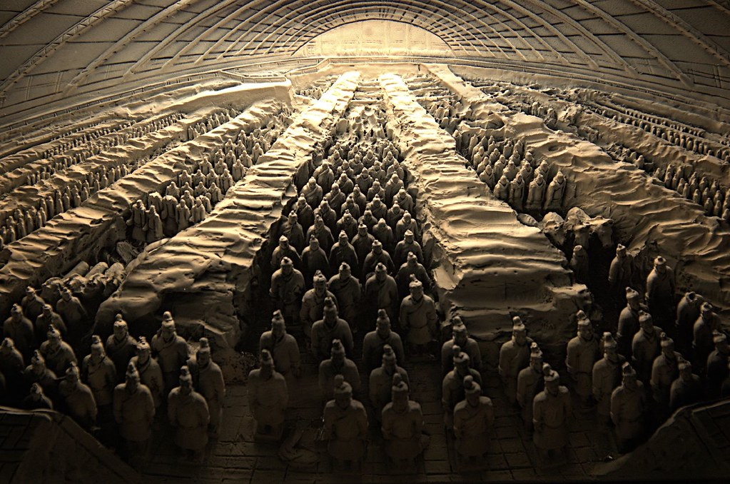 The Mausoleum of Qin S...