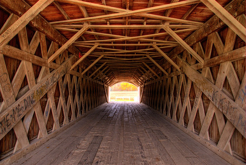 Bridges of Madison County | by Thad Roan - Bridgepix